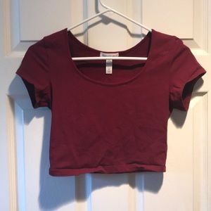 Ambiance apparel cropped top